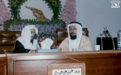 موقف النحاة من القراء : محاضرة للدكتور / حسن بن محمد الحفظي – تقديم : عيسى علي عسيري .
