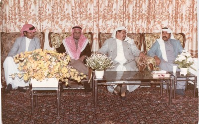 أحد الوفود الصحفية من ( الكويت) في زيارة إلى النادي …