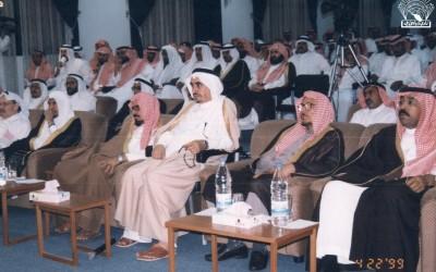 ومن أماسي النادي الشعرية : د . مبروك عطية أبو زيد – د. محمد المازني .