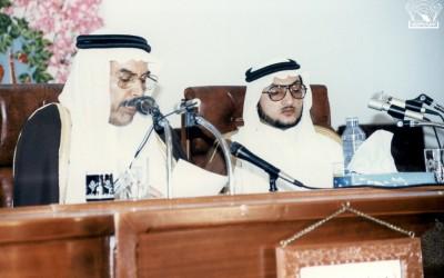 إحدى الفعاليات التي أدرارها د. صالح زياد الغامدي ..