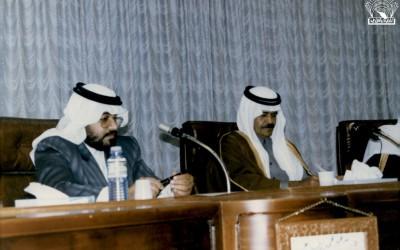 صور من اجتماعات رئيس مجلس إدارة النادي أ. محمد الحميد مع بعض المسؤولين …