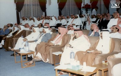 محاضرات ، ومنها مع الدكتور / عبد البديع عبد الله – د. أحمد المزاح ..