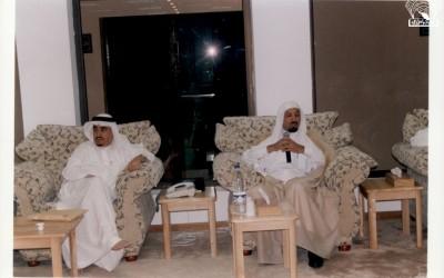 مسامرة مع الدكتور / علي بن عبد الله الألمعي .