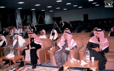 من محاضرة حول الانتخابات البلدية : – د. محمد آل زلفة – حمدان العصيمي – حسن جدعان الشهري .