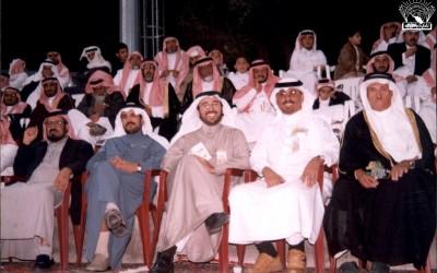 إحدى أماسي النادي في محافظة رجال المع .