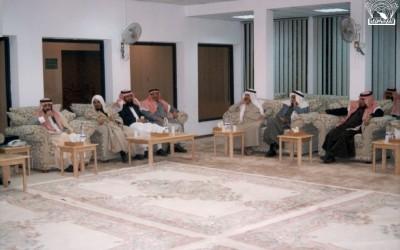 من مسامرة الأستاذ / عبد الخالق بن سليمان الحفظي مدير تعليم رجال المع في النادي .