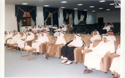 من أمسية شعرية للشاعر / أحمد الصالح – إدارة الأديب / محمد عبد الرحمن الحفظي .
