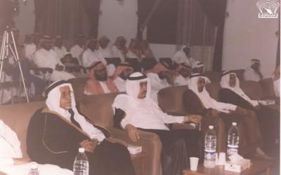 أحد اللقاءات من تقديم د. علي بن عيسى الشعبي .