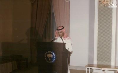 أ.د. زاهر الألمعي – أ . محمد الحميد ، في أحد افتتاحات الأنشطة الصيفية برعاية الأمير / خالد الفيصل .