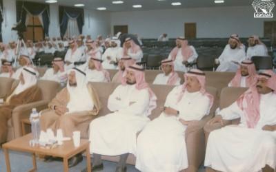 ومحاضرة للدكتور / حسن العلوي – الدكتور / طلال بكري ..