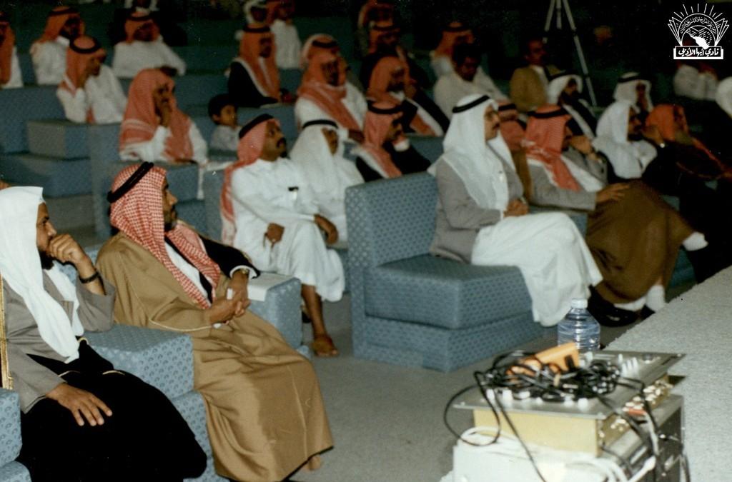 صورة أخرى لأمسية الشاعر العربي / عمر أبو ريشة ..