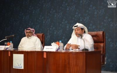 محاضرة : الاستثمار الرياضي الناقد الرياضي / محمد أبو هداية :