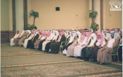لقاء مع : د. بكر با قادر – د. حسن الهويمل – د. عبد الله أبو داهش وغيرهم ….
