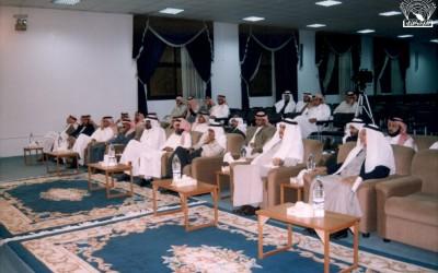 أحد اللقاءات الثقافية الشهرية مع / د. حسن النعمي – أ. عبد الله التعزي .