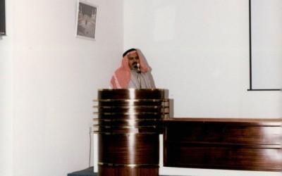 ( العزف على أنغام التراث) : محاضرة لأحد الباحثين أدارها د. سعد عثمان .