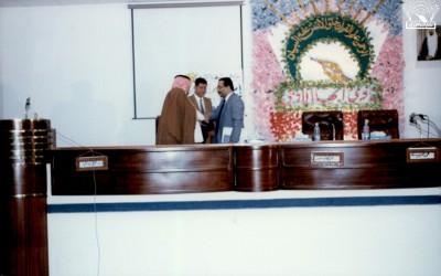 أمسية للشاعر / عبد الله الخشرمي – وأخرى يظهر فيها الشاعر / علي عبد الله مهدي .