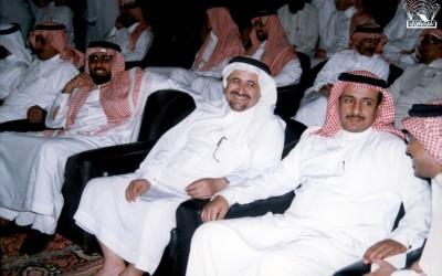 الشاعر / محمد العلي ضيفا على النادي …