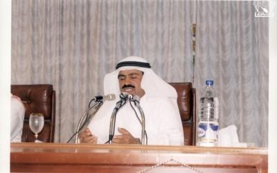 محاضرة للدكتور / علي عبد الله موسى – أدارها الأديب / أحمد عبد الله عسيري ..
