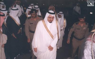من حفل إشهار صندوق الأديب رعاية أمير منطقة عسير / فيصل بن خالد بن عبد العزيز .