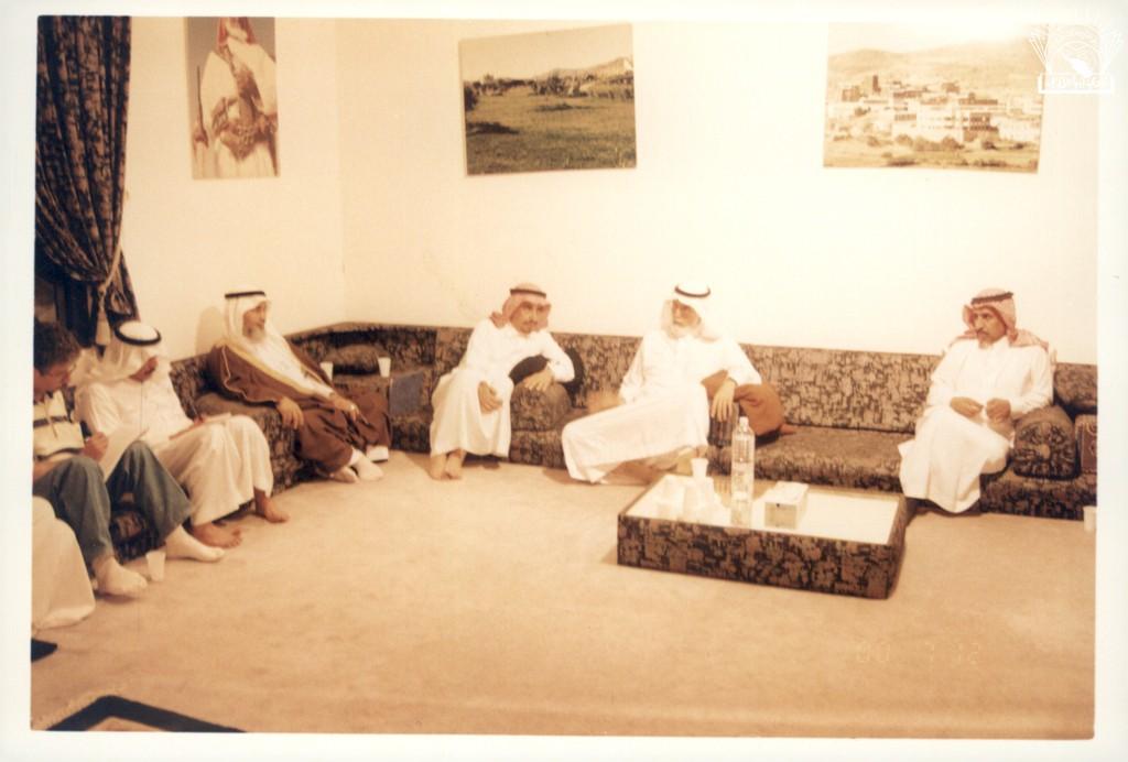 من مسامرات النادي مع الأستاذ / حجاب بن يحي الحازمي .
