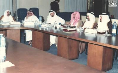 من مؤتمر رؤساء الأندية الأدبية الخامس عشر برعاية الأمير / حالد الفيصل